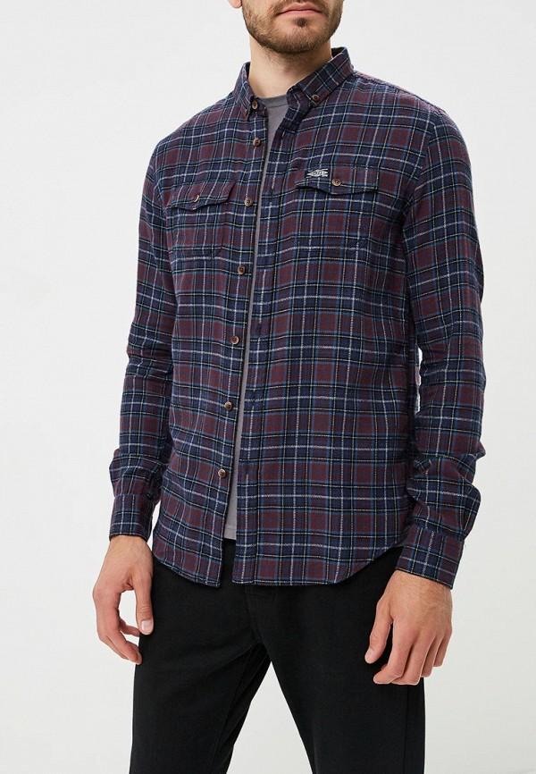 Купить Рубашка Superdry, SU789EMBYPK5, фиолетовый, Осень-зима 2018/2019