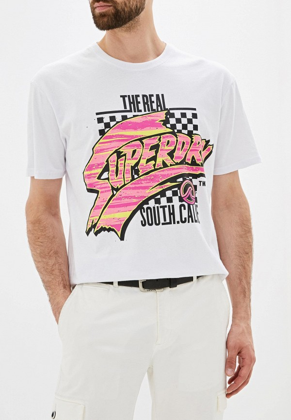 Футболка Superdry Superdry SU789EMEIYF5 футболка superdry superdry su789emrvp41