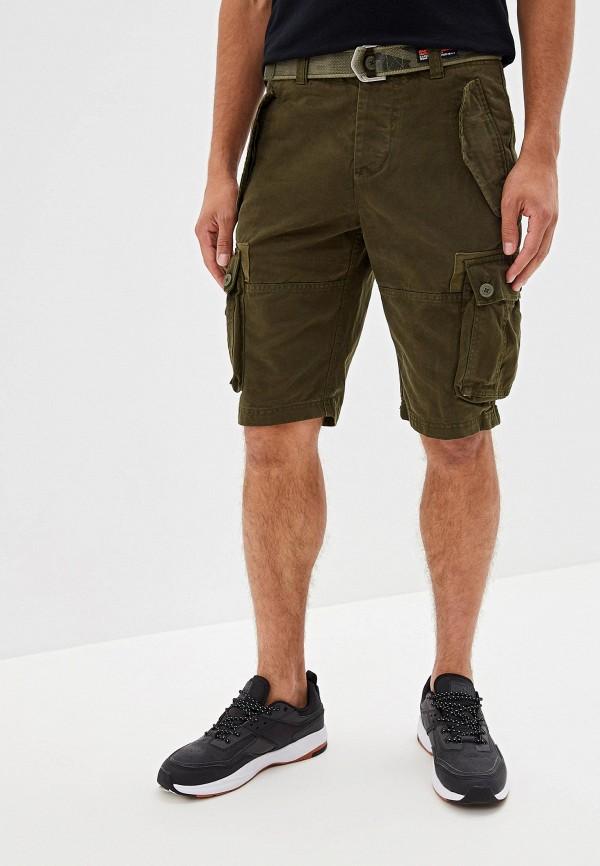Фото - Мужские шорты Superdry цвета хаки