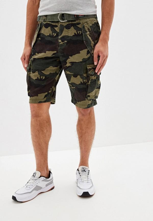 мужские повседневные шорты superdry, разноцветные