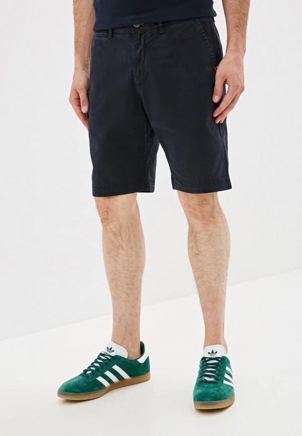 мужские повседневные шорты superdry, синие