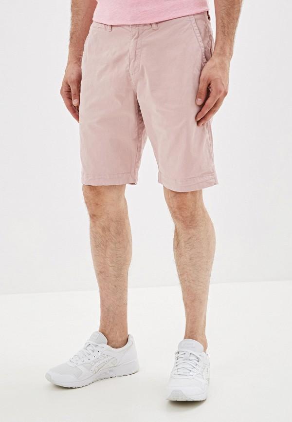 мужские повседневные шорты superdry, розовые