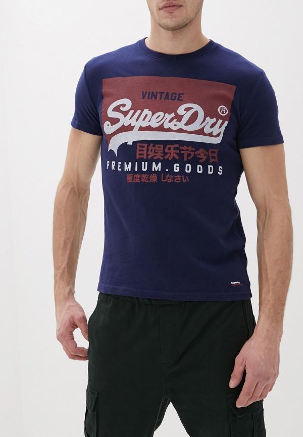 Футболка Superdry Superdry SU789EMGPRO3 рубашка superdry темно синий 56 размер