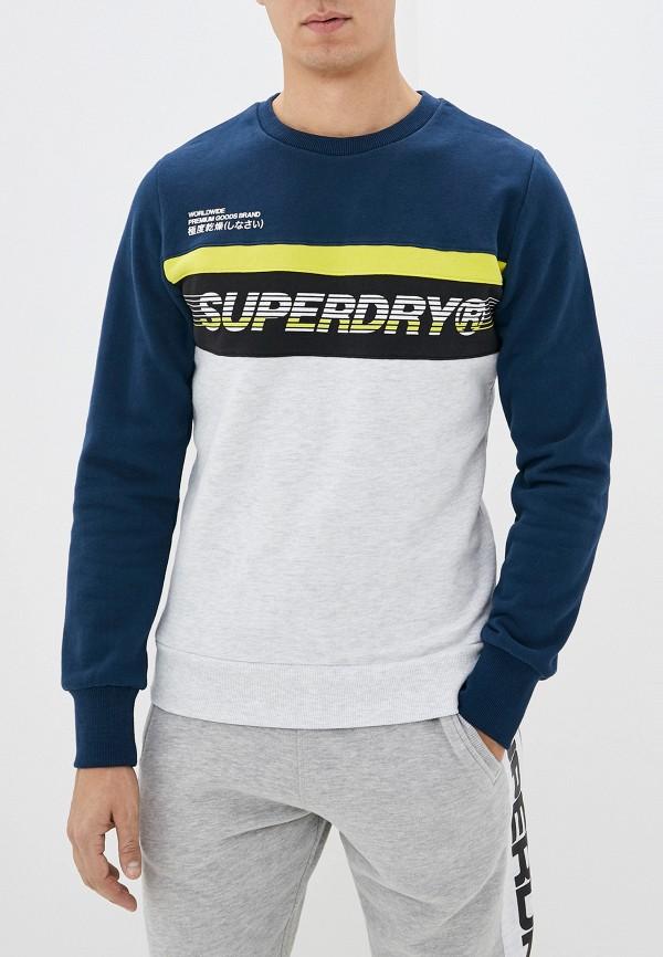 мужской свитшот superdry, разноцветный