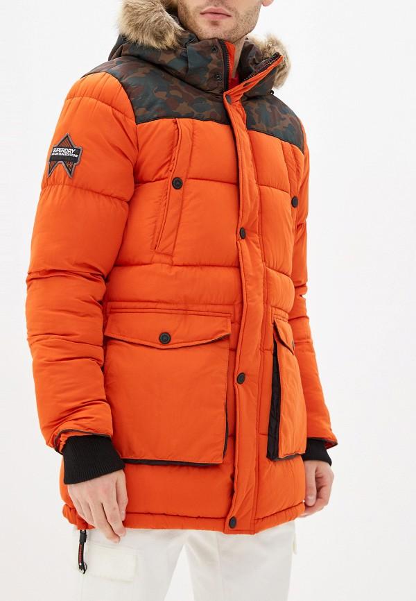 Куртка утепленная Superdry Superdry SU789EMGPRU7 парка superdry оранжевый 54 размер