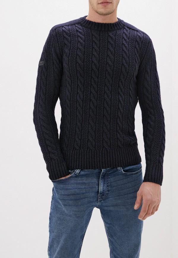 мужской свитер superdry, синий