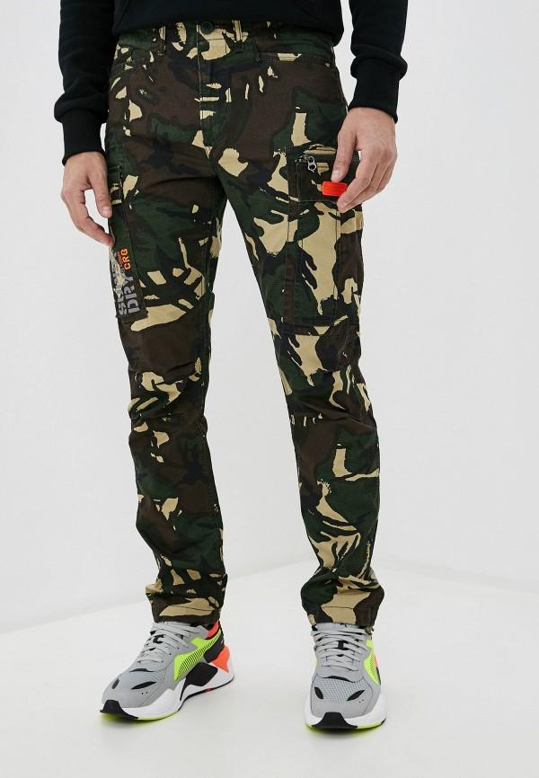 мужские брюки superdry, хаки