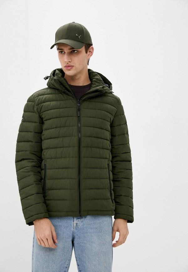 мужская куртка superdry, хаки