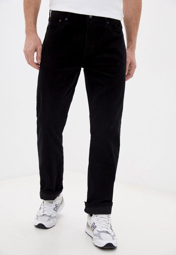 мужские повседневные брюки superdry, черные