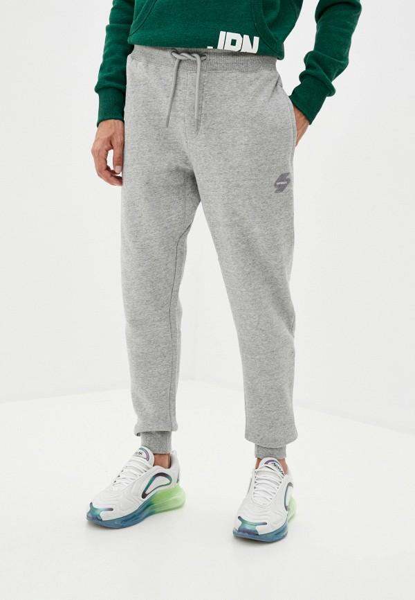 мужские спортивные брюки superdry, серые