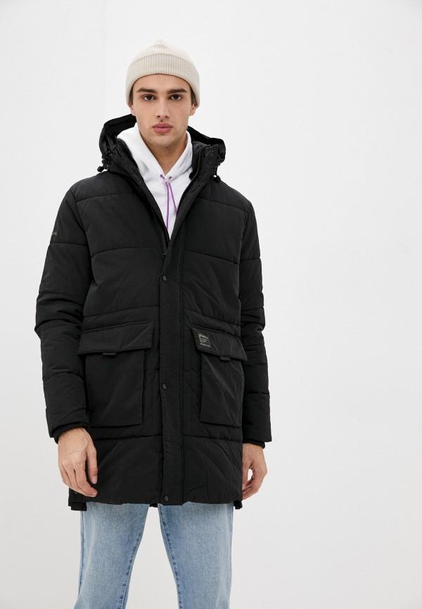 мужская куртка superdry, синяя
