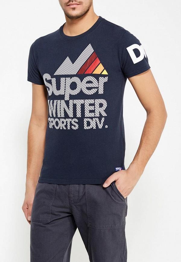 Футболка Superdry Superdry SU789EMVCA14 рубашка джинсовая superdry superdry su789emaaaw6