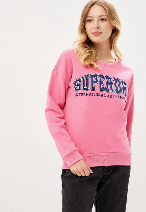 Свитшот Superdry Superdry SU789EWBYPT5 брюки superdry superdry su789ewaabc4