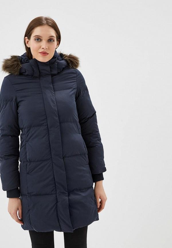 женская куртка superdry, синяя