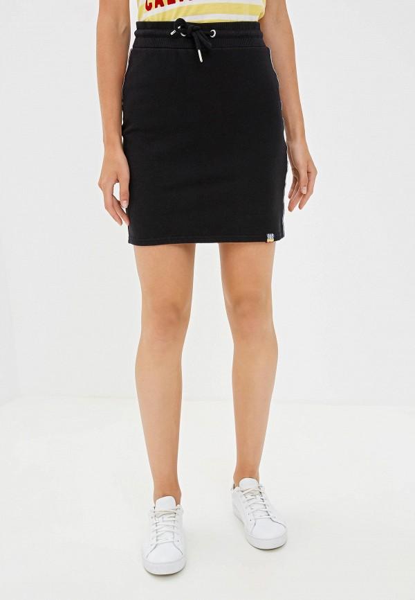 Фото - Женскую юбку Superdry черного цвета