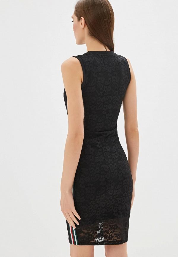 Фото 3 - Женское платье Superdry черного цвета
