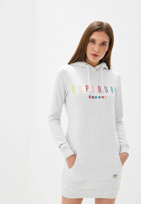 Платье Superdry Superdry SU789EWEIXE7 недорго, оригинальная цена