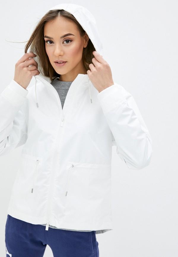 женская куртка superdry, белая