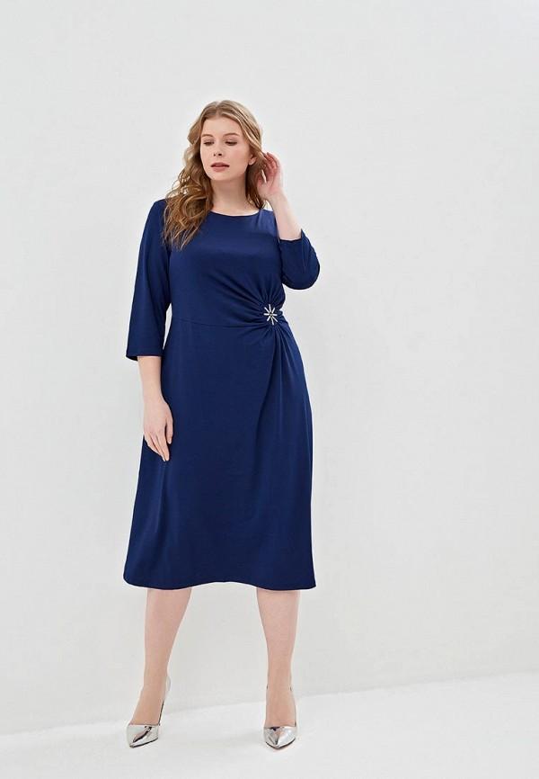 Фото 2 - женское платье Svesta синего цвета