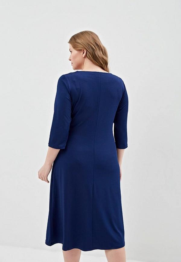 Фото 3 - женское платье Svesta синего цвета