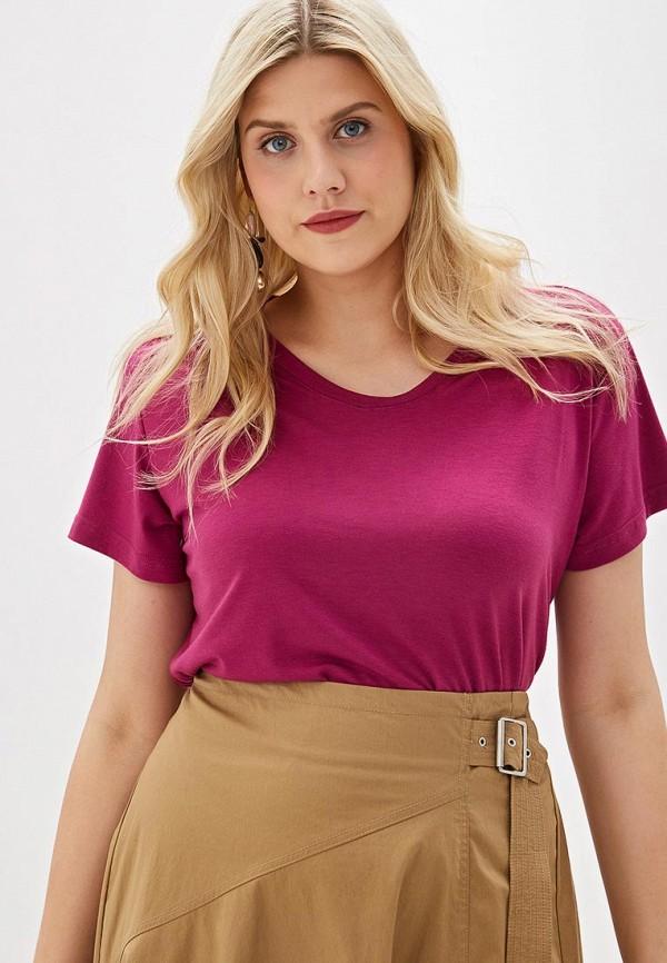 Фото - женскую футболку Svesta фиолетового цвета