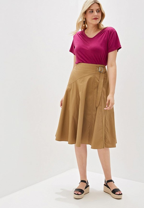 Фото 2 - женскую футболку Svesta фиолетового цвета
