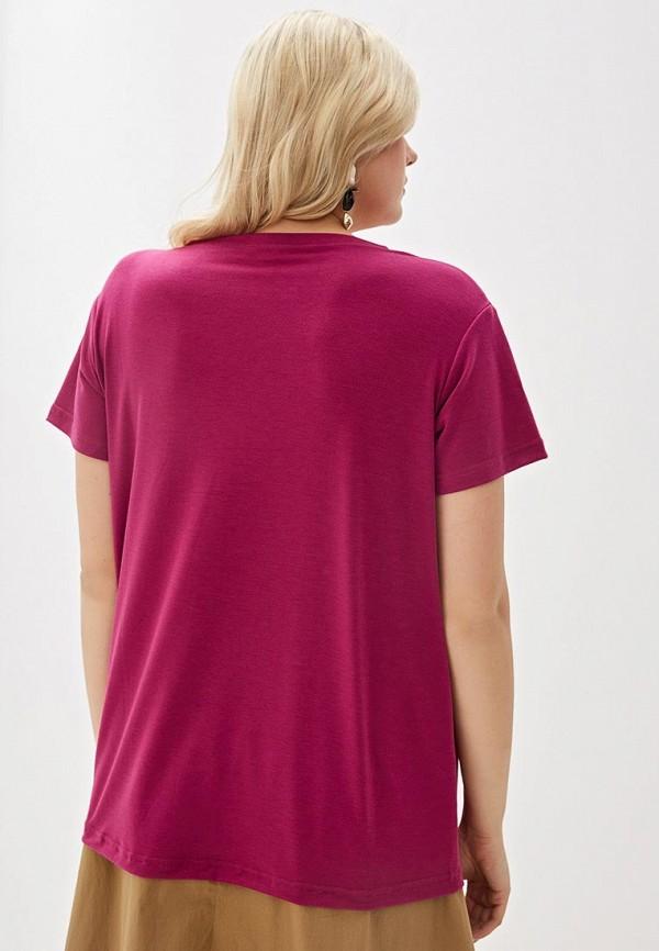 Фото 3 - женскую футболку Svesta фиолетового цвета