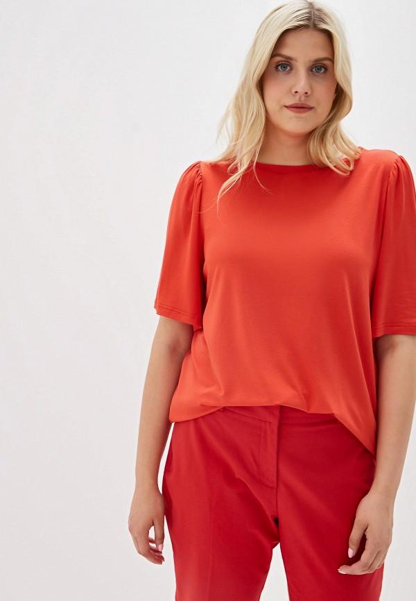 Фото - женскую футболку Svesta красного цвета