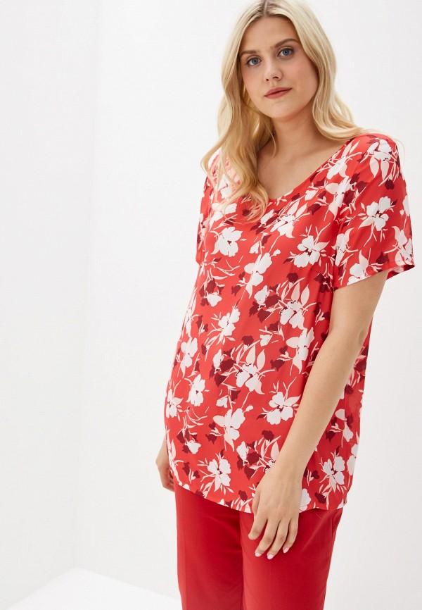 Фото - женскую блузку Svesta красного цвета