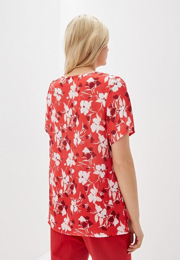 Фото 3 - женскую блузку Svesta красного цвета