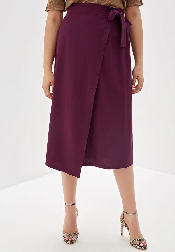 женская прямые юбка svesta, фиолетовая