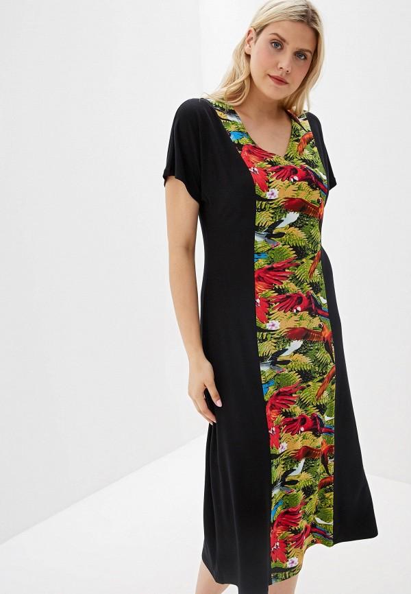женское платье-футляр svesta, черное