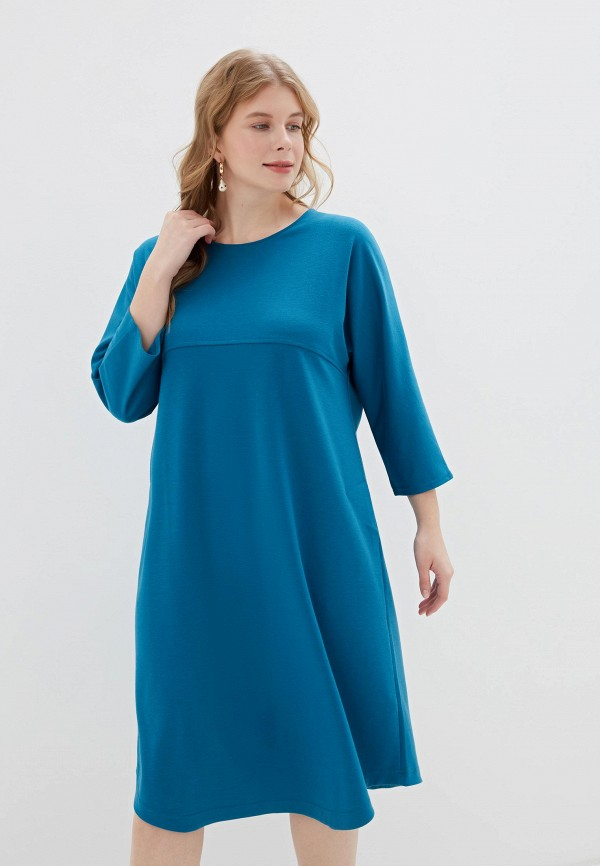 женское повседневные платье svesta, бирюзовое