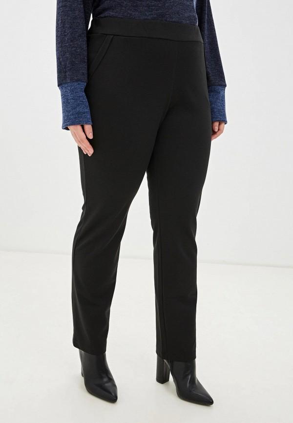 женские прямые брюки svesta, черные