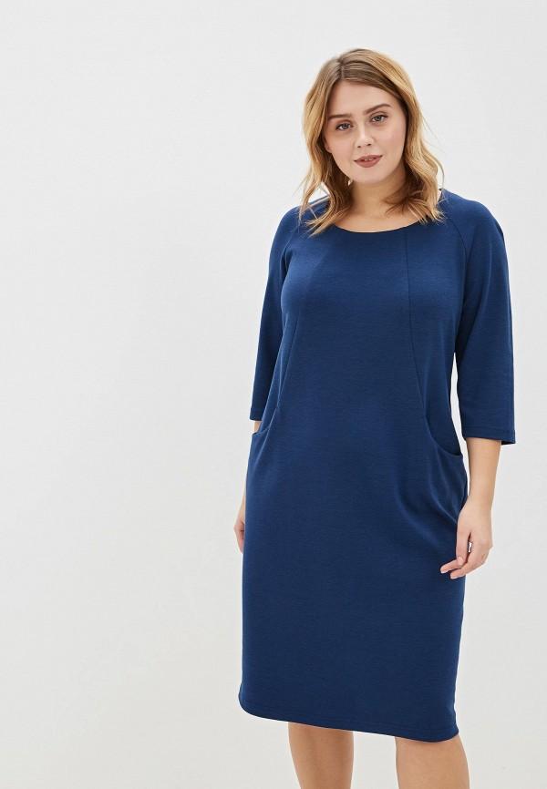 женское повседневные платье svesta, синее