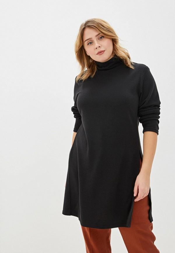 женская туника svesta, черная