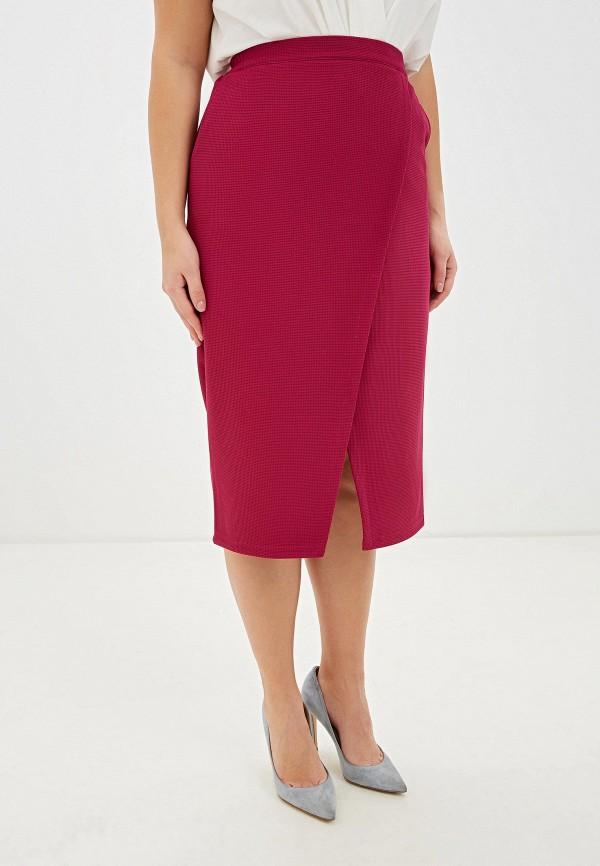 женская прямые юбка svesta, розовая