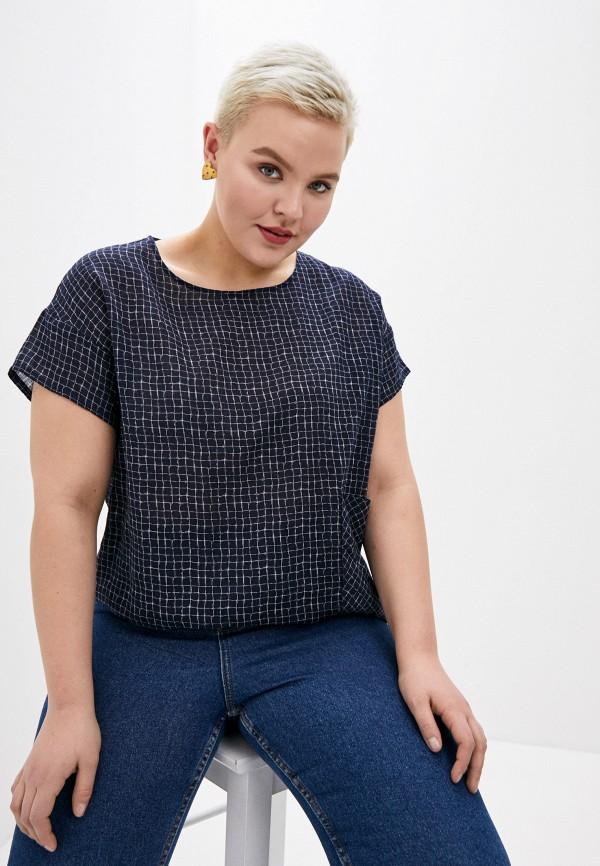женская блузка svesta, синяя