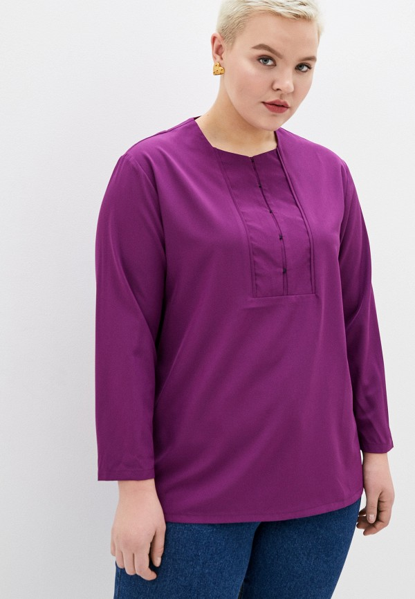 женская блузка svesta, фиолетовая