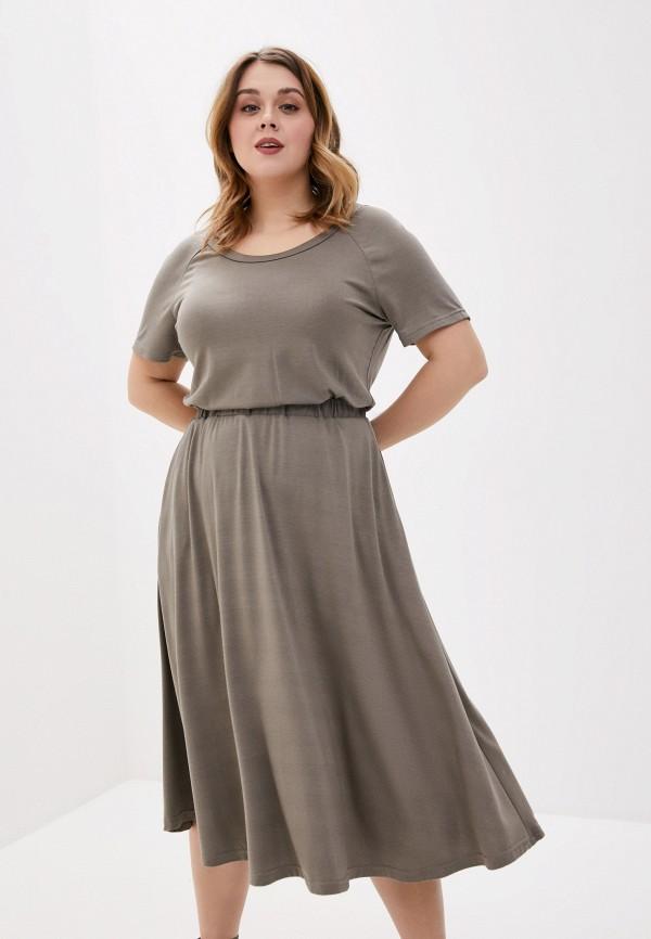 женское повседневные платье svesta, хаки