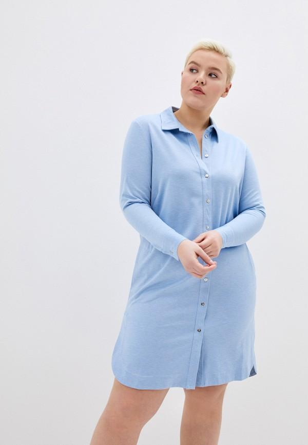 женское платье svesta, голубое