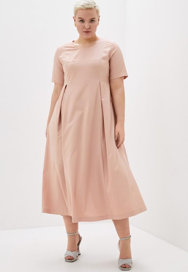 женское повседневные платье svesta, бежевое