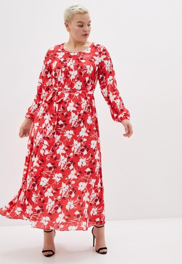 женское повседневные платье svesta, красное