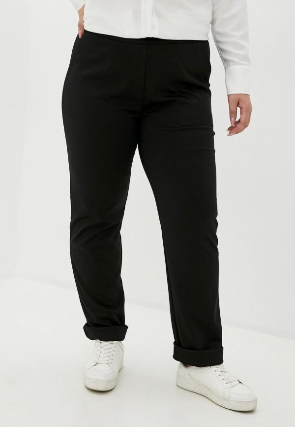 женские зауженные брюки svesta, черные