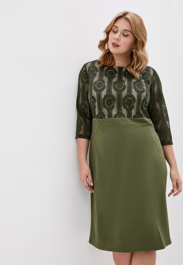 женское повседневные платье svesta, зеленое