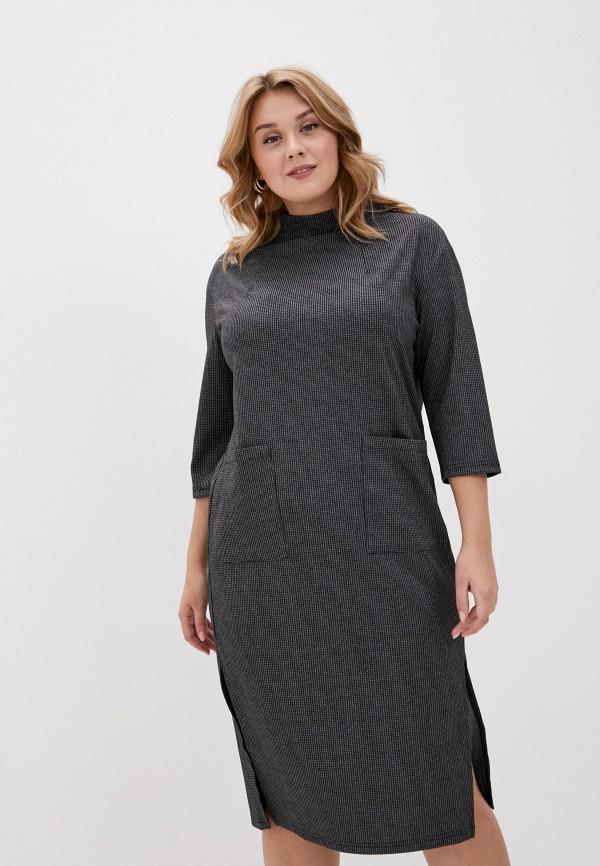 женское повседневные платье svesta, серое