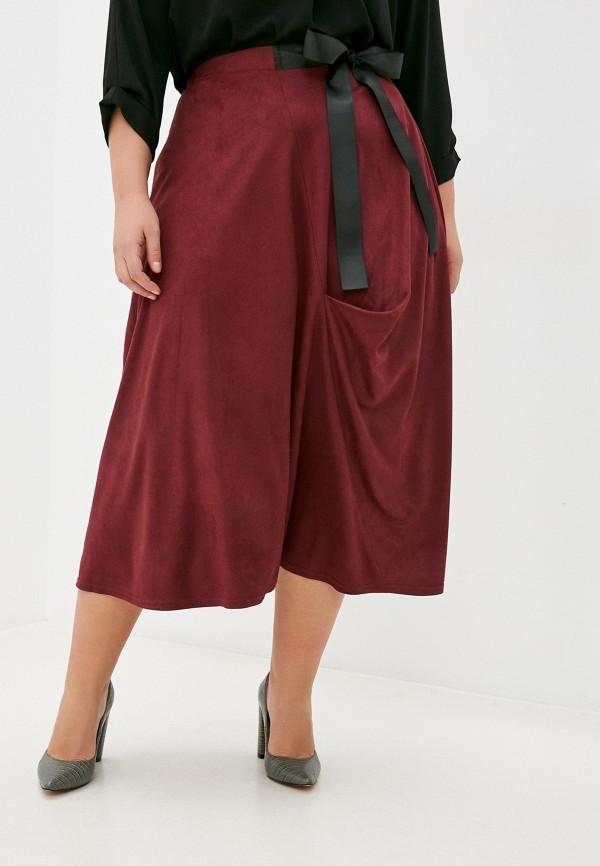 женская юбка svesta, бордовая