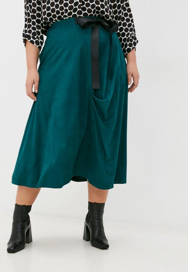 женская юбка svesta, зеленая