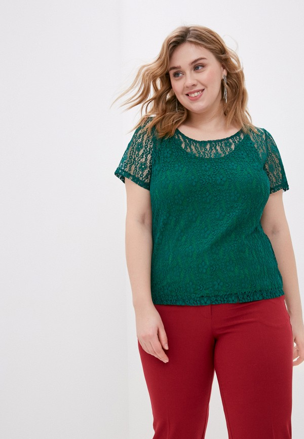 женская блузка svesta, зеленая