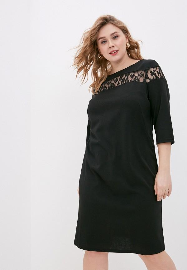 женское повседневные платье svesta, черное